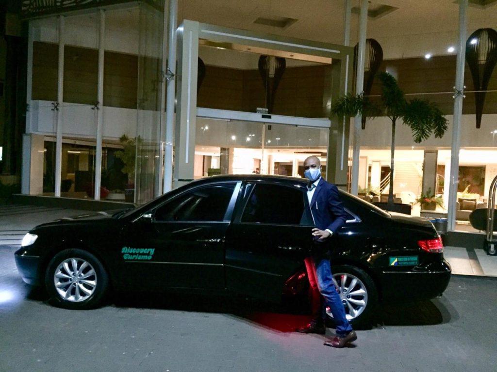 Nosso CEO Lourival Teixeira sendo recepcionado com toda segurança no Recanto Cataratas